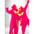"""Комплект """"Розовые Драконы"""" одинаковые костюмы кигуруми для двоих"""